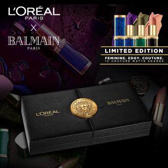 [PRE-ORDER] #LOrealXBalmain - Limited Edition Exclusive Coffret Box [Limited Edition] by L'Oréal Paris