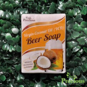 Precious Herbal Pillow Virgin Coconut Oil (VCO) Beer Soap withWhitens, Moisturizes Exfoliates Price Philippines