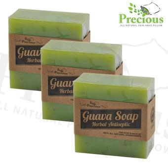 Precious Pad Nature's Guava Spa Soap Herbal - Antiseptic Soap SETOF 3 Price Philippines