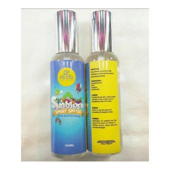 PRESTIGE SUNBLOCK SPRAY SPF100 WITH GLUTATHIONE Price Philippines