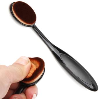 Pro Face Oval Makeup Brush Foundation BB Cream Flawless Base Powder Puff Blusher Cosmetic Toothbrush Shaped Cleaning Beauty Tool