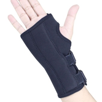 PROCARE PROTECT #1032R Hand and Wrist Splint Brace with Metal Support, Right Hand (Black) - 4