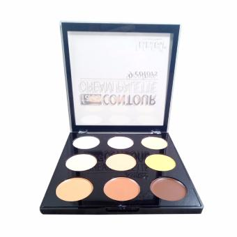 Professional Make-up Face Contour Cream Palette 9 colors