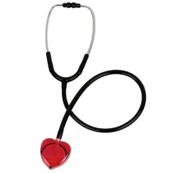 Professional Medical Clear Sound HEART Stethoscope Heart Edition for Nurses Gift