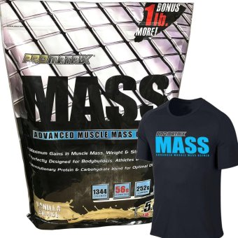 Promatrix Mass Advanced Muscle Mass Gainer Vanilla 6lbs + DriFit