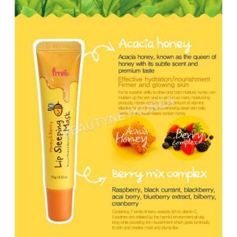 PRRETI Honey & Berry Lip Sleeping Mask (Tube) - 3