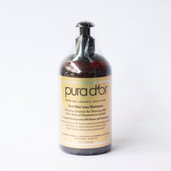 Pura d'or Anti-Hair Loss Shampoo for Thinning Hair Gold Standard