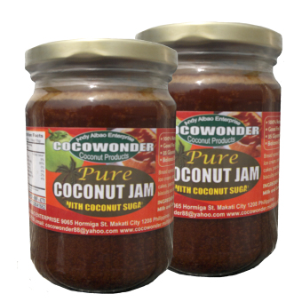 Pure Coconut Jam 250g ( With Pure Coconut Nectar )