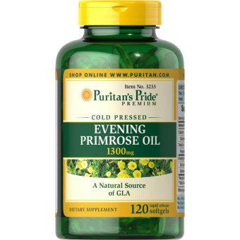 Puritan's Pride Evening Primrose Oil 1300mg, 120 Softgels