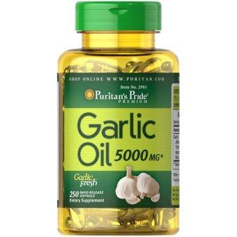 Puritan's Pride Garlic Oil 5000mg, 250 Softgels