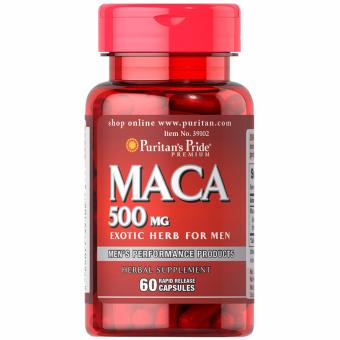 Puritan's Pride Maca 500mg 60 capsules Set of 1 Bottle