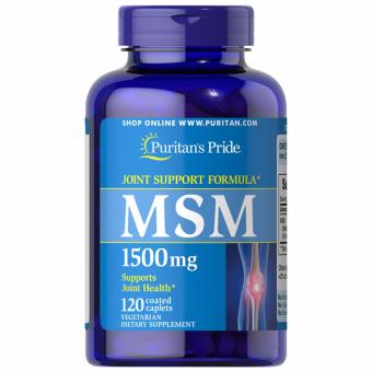Puritan's Pride MSM 1500mg 1500mg 120 caplets Set of 1 Bottle