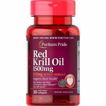 Puritan's Pride Red Krill Oil 1500 mg, 30 Softgels
