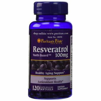 Puritan's Pride Resveratrol 100 mg, 120 Softgels Price Philippines