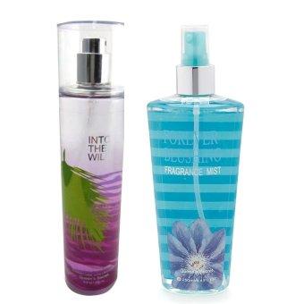 Queen's Secret Into the Wild Fine Fragrance Mist for Women 236ml with Queen's Secret Love Spell Fragrance Mist 250ml Bundle