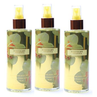 Queen's Secret Midnight Mimosa Body Mist 250ml for Women Set of 3 - picture 2