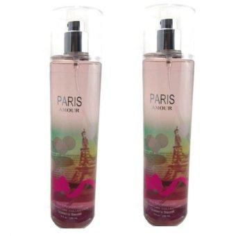 Queen's Secret Paris Amour Fine Fragrance Mist for Women 236ml Set of 2