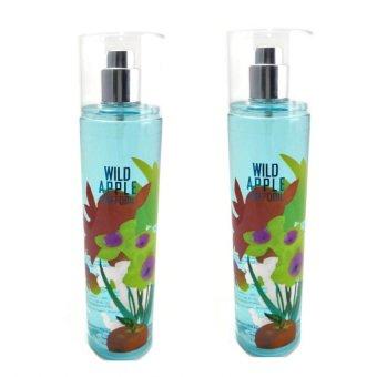 Queen's Secret Wild Apple Daffodil Fine Fragrance Mist for Women 236ml Set of 2