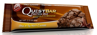 Quest Bar Chocolate Brownie Protein Bars Pack Set of 6