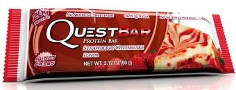Quest Bar Strawberry Cheesecake Box of 6