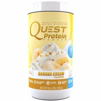 Quest Protein Powder Banana Cream 2LB Canister