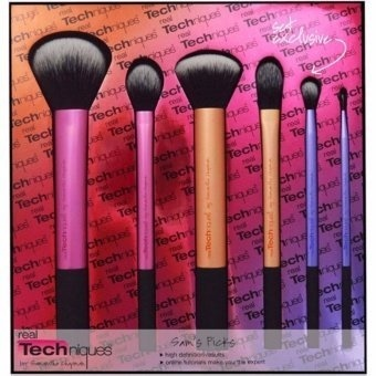 Real Techniques 6 PcsnProfessional Makeup Cosmetics Brushes Set Kit Price Philippines