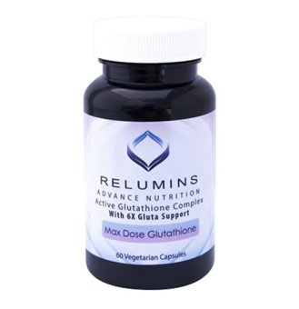Relumins Active Glutathione Complex Max Dose with 6X Boosters GlutaSupport, 60 Vegetarian Capsules Price Philippines