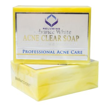 Relumins Advance White Acne Clear Soap with Calamansi and Salicylic Acid 135g