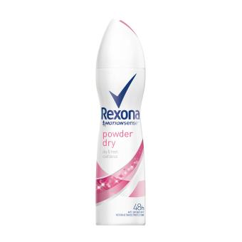 REXONA WOMEN DEODORANT SPRAY POWDER DRY 150ML - 2