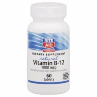 Rite Aid NAtural Vitamin B12 1000 MCG 60'S