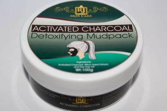 RJ Skin Care Activated Charcoal Mudpack 100g Set of 3 - picture 2