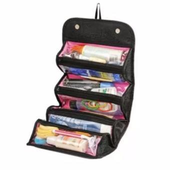 Roll-N-Go Cosmetic Bag (black) - 3