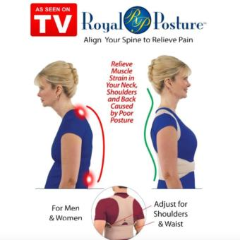 Royal Posture Back Supporter (Brown) - 2