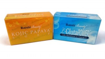 Royale Glutathione & Kojic Soap 130g Set of 2 Price Philippines