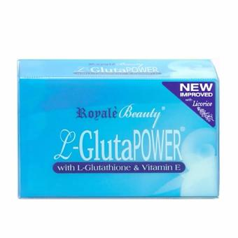 Royale L-Gluta Power Soap with Glutathione and Vitamin E 130g