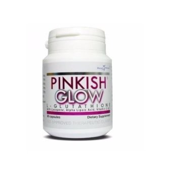 Royale Pinkish Glow L-Glutathione 367mg (30 Capsules)