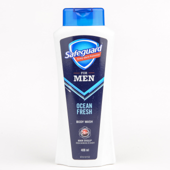 Safeguard Men Body wash Ocean Fresh 400ml Price Philippines