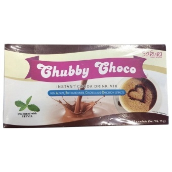 Sakura Chubby Choco Instant Cocoa Drink Mix for Weight Gain