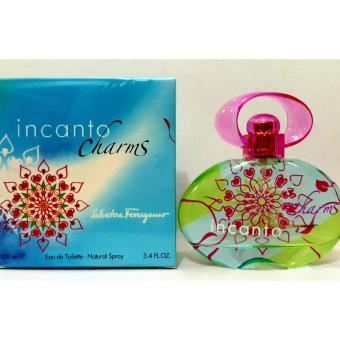 Salvatore Ferragamo Incanto Charms Eau De Toilette for Women 100ml