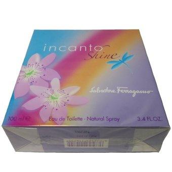 SALVATORE FERRAGAMO Incanto Shine Eau de Toilette Natural Spray 3.4 fl oz/ 100 ml (UPC: 803259114755) - picture 2