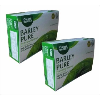 Sante Barley Pure New Zealand (500mg/60 Capsules) box of 2