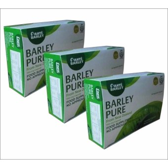 Sante Barley Pure New Zealand (500mg/60 Capsules) box of 3