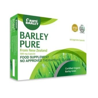 Sante Barley Pure New Zealand Food Supplement 500mg 60 Capsules