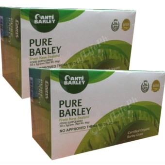 Sante Barley Pure powder juice New Zealand (3grams / 30 sachets) 2boxes