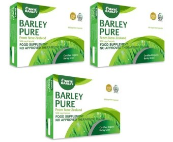 Sante Pure Barley 500mg 60 Capsules Food Supplement Boxes of 3 Price Philippines