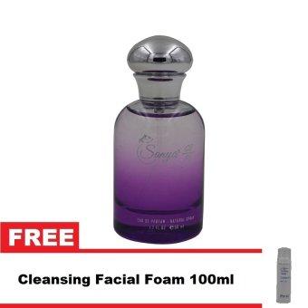 Sanya 214 Eau De Parfum for Women 50ml with Free Cleansing Facial Foam 100ml