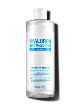 Secret Key Hyaluron Soft Micro-Peel Toner Korean Cosmetics