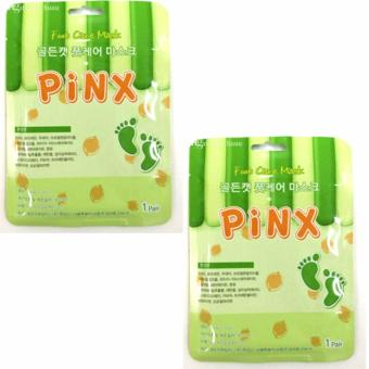 Set of 2 Pinx Foot Care Exfoliating Mask (1 Pair)
