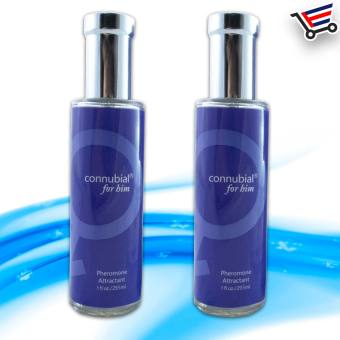 Sex Perfume fragrance for Him connubial attractant Pheromone Set of 2 (Blue)