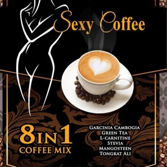 Sexy Coffee 8 in 1 Slimming Coffee Mix Price Philippines